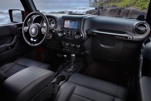 2012 Jeep Wrangler Unlimited Altitude Interior