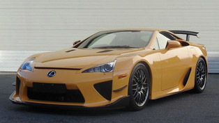 2012 Lexus LFA Sportscar Equipped With Nuerburgring Package