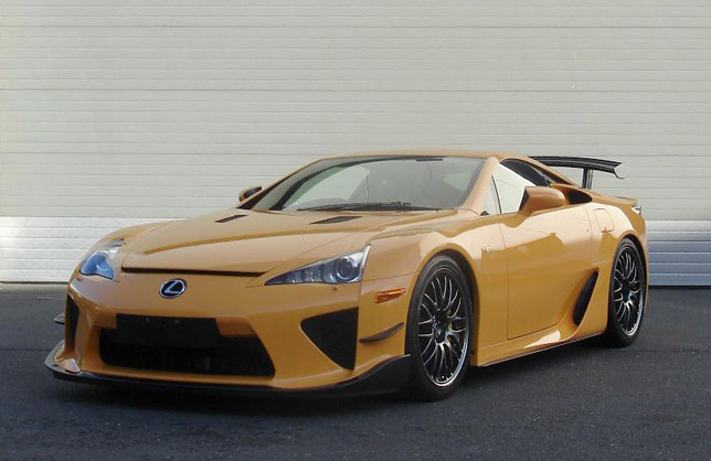 Lexus LFA Sportscar Equipped With Nuerburgring Package - Sports cars 2012