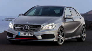 Most progressive design in the compact class: 2012 Mercedes-Benz A-Class