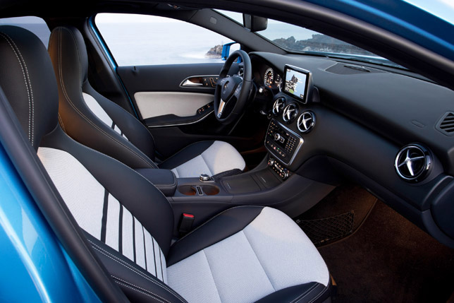 2012 Mercedes-Benz A-Class Interior