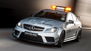 2012 Mercedes-Benz C 63 AMG Coupé Black Series Safety Car - the most powerful C-Class ever created