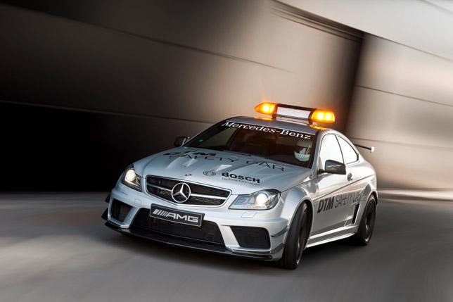 2012 Mercedes-Benz C 63 AMG Coupé Black Series Safety Car