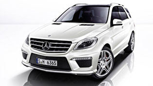 2012 Mercedes-Benz ML 63 AMG ready to conquer UK roads