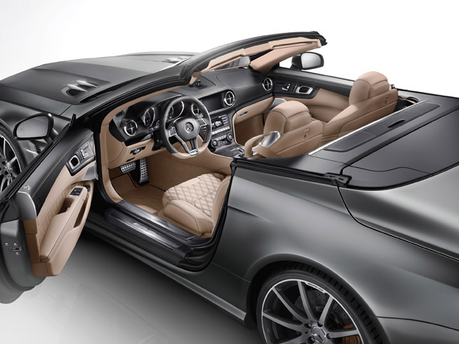 2012 Mercedes-Benz SL 65 AMG 45th ANNIVERSARY Edition (Interior)