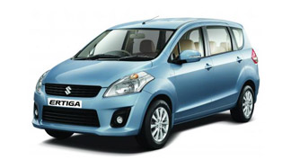 2012 Suzuki MPV Ertiga in preparation for launching