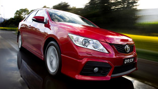 2012 Toyota Aurion - Specifications and Pricing Announced