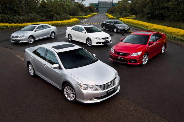 2012 Toyota Aurion Fleet