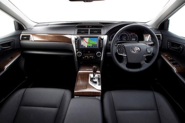 2012 Toyota Aurion Interior