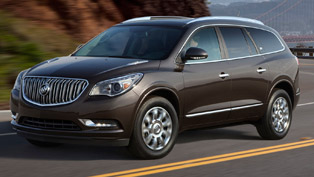 2013 buick enclave - full specs