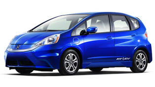 2013 Honda Fit EV takes part in smarter charging project