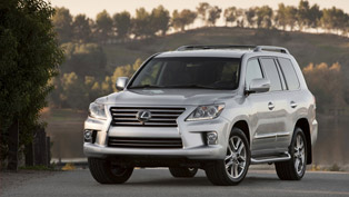 2013 Lexus LX 570 SUV With New Look