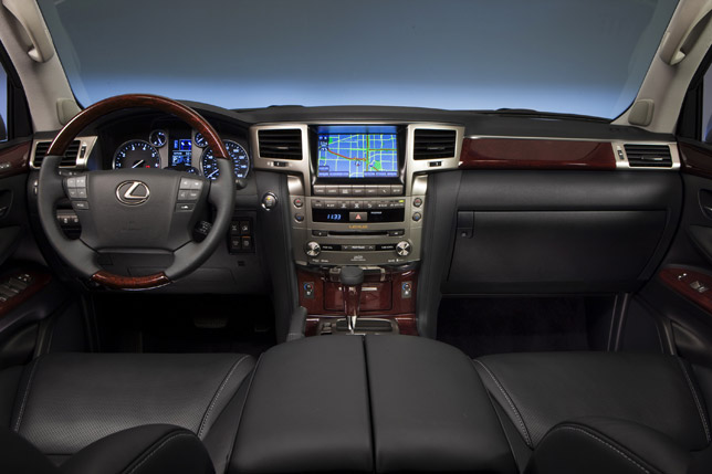 2013 Lexus LX 570 SUV Upgraded Interior