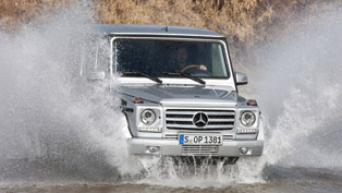 2013 Mercedes-Benz G-Class gets upgraded