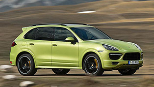 World Premiere of 2013 Porsche Cayenne GTS in Beijing