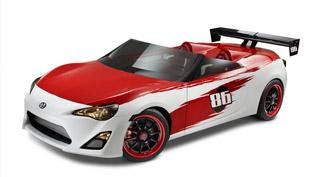 2013 scion fr-s speedster on the track