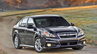 2013 Subaru Legacy unveiled at 2012 Beijing International Automotive Exhibition
