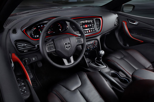 2013 Dodge Dart Interior