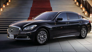 2013 Nissan Cima delivers comfort and luxury