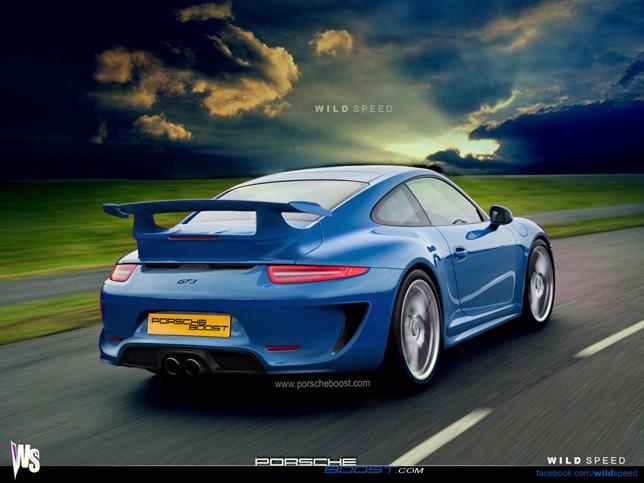 2014 Porsche 911 GT3 render