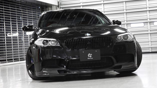 3d design bmw f10 m5 offers more aerodynamism