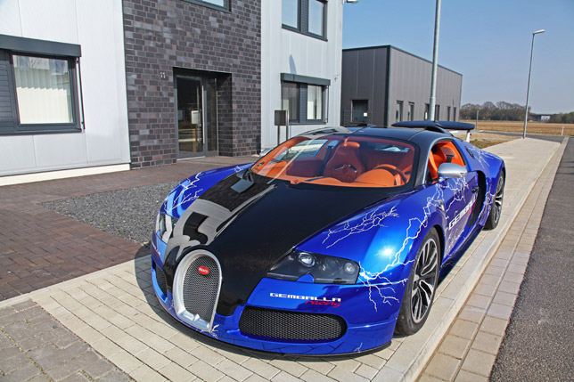 Bugatti Veyron Sang Noir by Cam Shaft