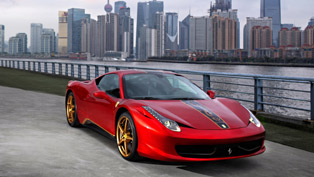 20 Years of Ferrari in China, 20 Special Editions of the Ferarri 458 Italia