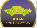 JNCAP Five Star Award for the Subaru Legacy