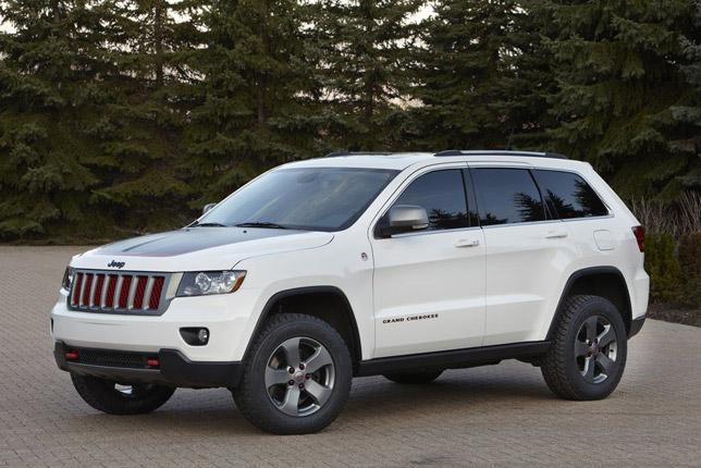 The Jeep Grand Cherokee Trailhawk Concept