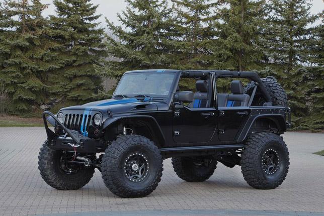 2012 Jeep Wrangler Apache from Mopar