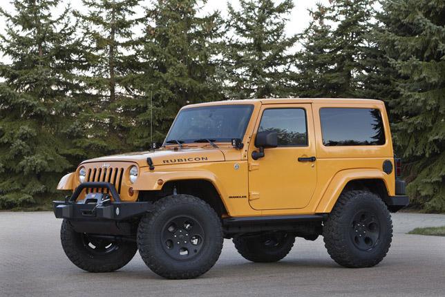Mopar Accessorized 2012 Jeep Wrangler
