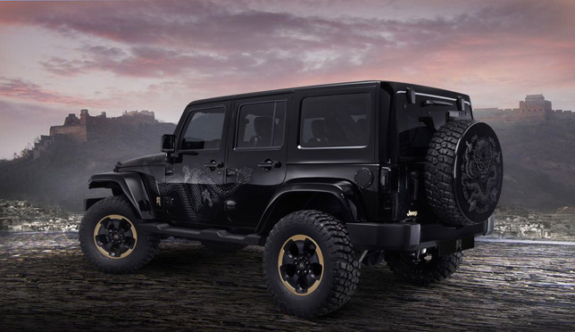"Jeep Wrangler ""Dragon"" Design Concept"