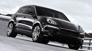 Kahn Porsche Cayenne Wide Track