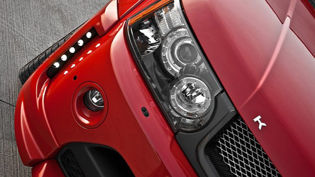 """Kahn Range Rover """"red ranger"""""""