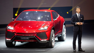 Lamborghini Urus at 2012 Beijing