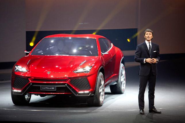 Lamborghini Ursus at Beijing 2012