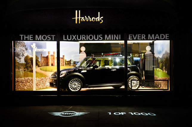 MINI inspired by Goodwood at Harrods