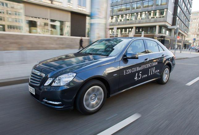 Mercedes Benz E 220 Blue Efficiency