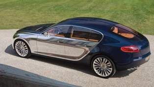 bugatti 16c galibier four door concept car [video]