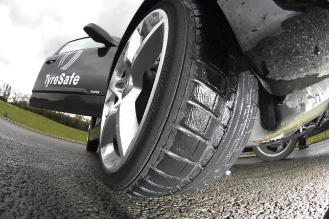 The air pressure in your tires should be at the manufacturer's recommended levels