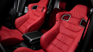 2012 Kahn Jeep Wrangler now enhanced with sport seats