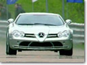 Mercedes McLaren SLR vs Aston Martin DBS Mansory and Nissan GT-R [HD video]