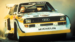 Audi Sport Quattro - KEMRacing in the Isle of Man [video]