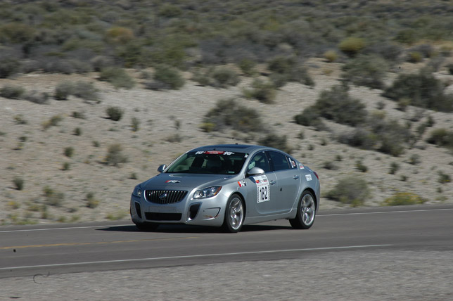 2012 Buick Regal GS competing at Nevada Open Road Challenge