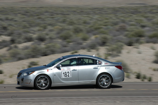 2012 Buick Regal GS at Nevada Open Road Challenge