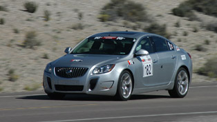 2012 Buick Regal GS luxury sport sedan at Nevada Open Road Challenge