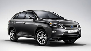 2013 Lexus RX 450h Range - Pricing Announced