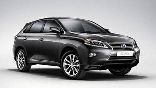 2013 Lexus RX 450h Range - Pricing Announced