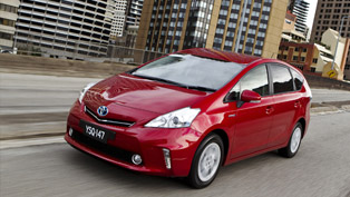 2012 Toyota Prius v – spacious and efficient
