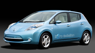 2012 Nissan Leaf powered by